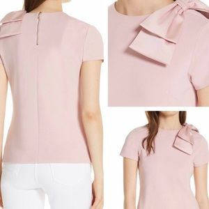 Ted Baker London Joyous Bow Shoulder Top